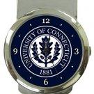 University of Connecticut Money Clip Watch