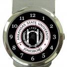 Arkansas State University Jonesboro Money Clip Watch