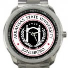 Arkansas State University Jonesboro Sport Metal Watch