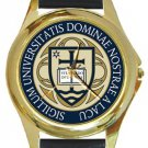 Notre Dame University Gold Metal Watch