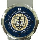 Notre Dame University Money Clip Watch