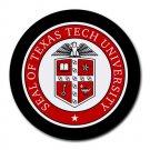 Texas Tech University Heat-Resistant Round Mousepad