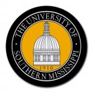 The University of Southern Mississippi Heat-Resistant Round Mousepad