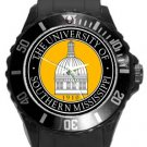 The University of Southern Mississippi Plastic Sport Watch In Black