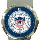 Howard University Money Clip Watch