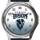 Howard Bison Round Metal Watch