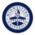 Midwestern University Heat-Resistant Round Mousepad