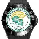 Norfolk State University Spartans Plastic Sport Watch In Black