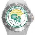 Norfolk State University Spartans Plastic Sport Watch In White