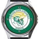 Norfolk State University Spartans Round Metal Watch