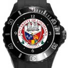 University of Louisiana Plastic Sport Watch In Black