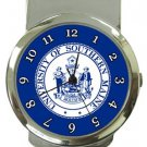 University of Southern Maine Money Clip Watch