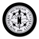 Northern Michigan University Heat-Resistant Round Mousepad