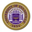 University of Evansville Heat-Resistant Round Mousepad