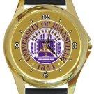 University of Evansville Round Metal Watch