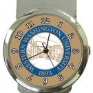 Western Washington University Money Clip Watch