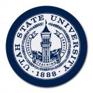 Utah State University Heat-Resistant Round Mousepad