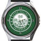 Utah Valley University Round Metal Watch