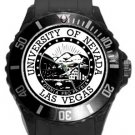 University of Nevada Las Vegas Plastic Sport Watch In Black