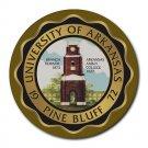 University of Arkansas Pine Bluff Heat-Resistant Round Mousepad