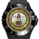 University of Arkansas Pine Bluff Plastic Sport Watch In Black