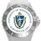 University of Massachusetts Dartmouth Plastic Sport Watch In White