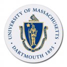 University of Massachusetts Dartmouth Heat-Resistant Round Mousepad