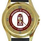 The University of Louisiana Monroe Gold Metal Watch
