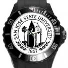 San Jose State University Plastic Sport Watch In Black