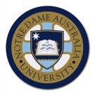 Notre Dame University Australia Heat-Resistant Round Mousepad