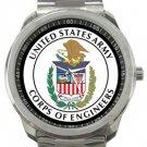 US Army Corps of Engineers Sport Metal Watch