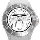 Georgia Southern University Plastic Sport Watch In White