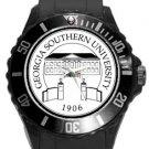 Georgia Southern University Plastic Sport Watch In Black