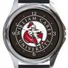 William Carey University Round Metal Watch