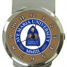 Ave Maria University Money Clip Watch