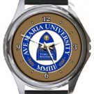 Ave Maria University Round Metal Watch