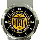 Virgina Commonwealth University Money Clip Watch