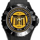 Virgina Commonwealth University Plastic Sport Watch In Black