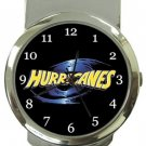 The Hurricanes Rugby Money Clip Watch