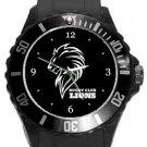 Lions Rugby Club Plastic Sport Watch In Black