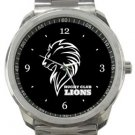 Lions Rugby Club Sport Metal Watch