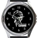 Lions Rugby Club Round Metal Watch