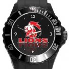 The Lions Rugby Plastic Sport Watch In Black