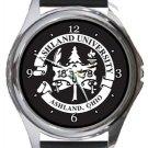 Ashland University Round Metal Watch