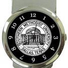 Southern Methodist University Money Clip Watch