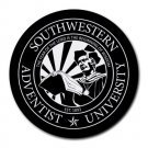 Southwestern Adventist University Heat-Resistant Round Mousepad