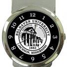 Belhaven University Money Clip Watch