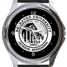 Belhaven University Round Metal Watch