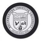 Southwestern Christian University Heat-Resistant Round Mousepad