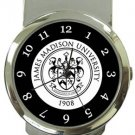 The James Madison University Money Clip Watch